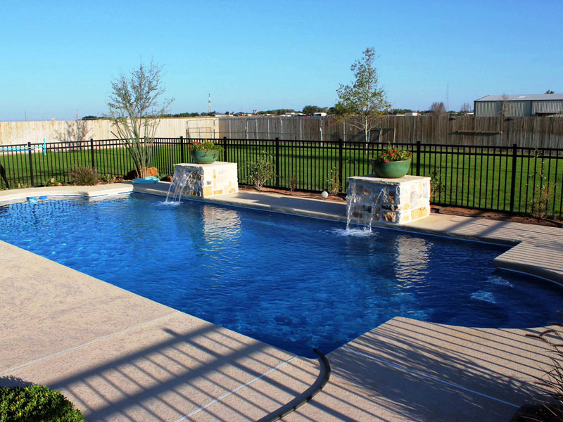 Pool designs inc eco friendly viking pools fiberglass for Pool design inc bordentown nj
