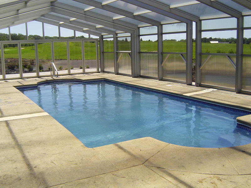 Pool Designs, Inc. | Classic Model Viking Pools Fiberglass ...