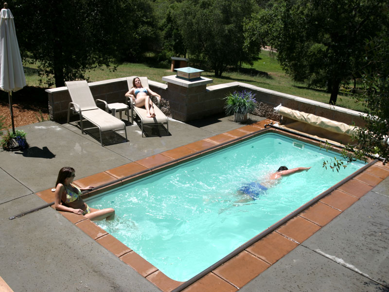 Pool designs inc lap and exercise pool models from for Pool designs yardville nj