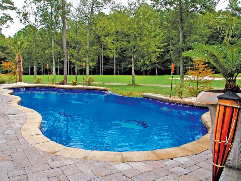 Pool designs inc vanishing edges for your fiberglass for Pool design inc