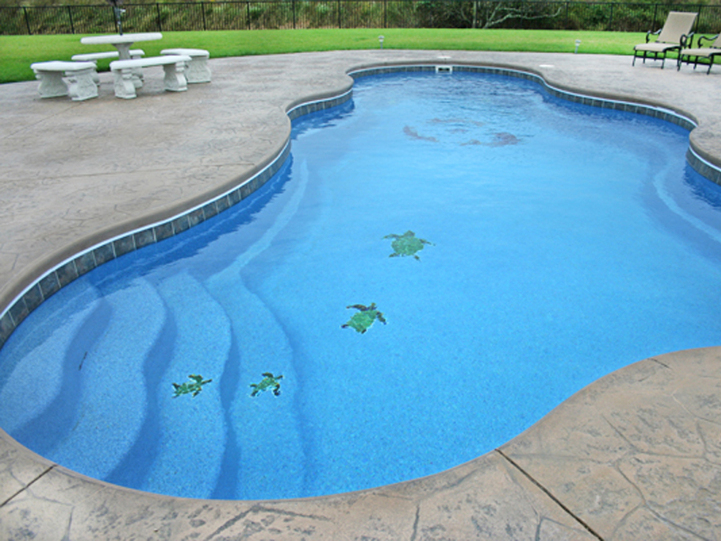 Pool Designs, Inc. | Swimming Pool Mosaics for your Viking Pools ...