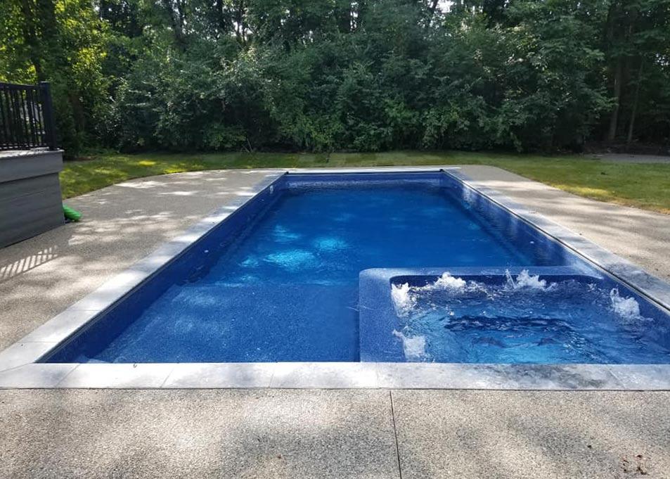 Pool Designs Inc Rectangle Model Viking Pools Fiberglass Swimming Pools From Pool Designs Inc Nj Pa Ny And De